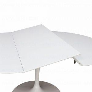 Tavolo Tulip Saarinen con piano laminato ALLUNGABILE - Instant Design