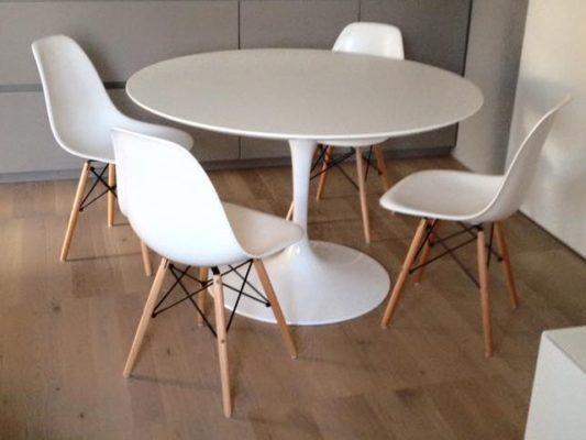 Distanza Panca Da Tavolo : Quale sedia abbinare al tavolo tulip instant design