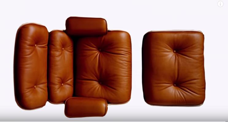 Poltrona lounge chair di charles eames. storia e caratteristiche di