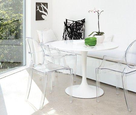 Tavolo Legno E Sedie Trasparenti.Quale Sedia Abbinare Al Tavolo Tulip Instant Design