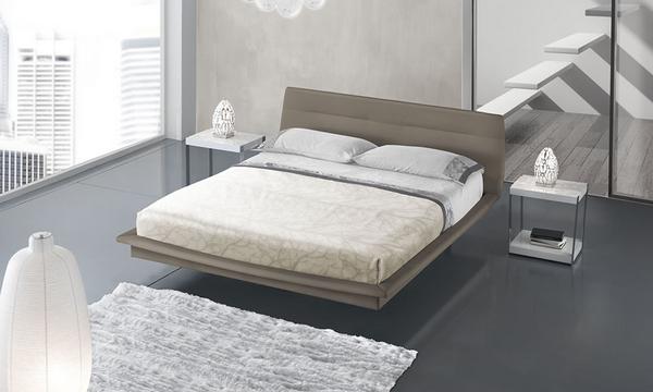 Letto matrimoniale panarea instant design for Letto moderno design