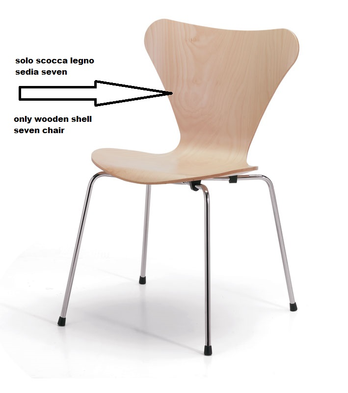 Ricambi Per Sedie In Legno.Seduta In Legno Per Sedia Seven Jacobsen Instant Design