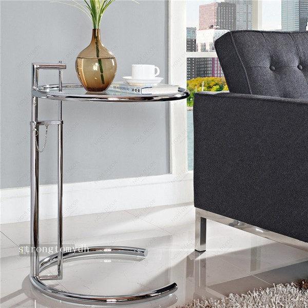 Eileen Gray Tavolino Prezzo.Tavolino Alzabile Cromato Eileen Gray Instant Design